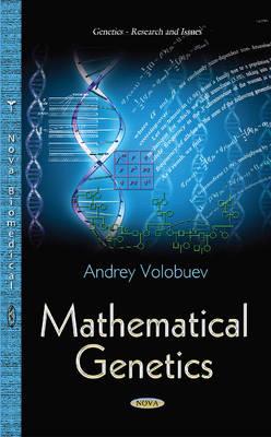 Mathematical Genetics - Volobuev, Nikolaevich Andrey
