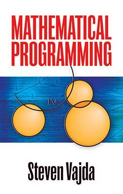 Mathematical Programming - Vajda, Steven