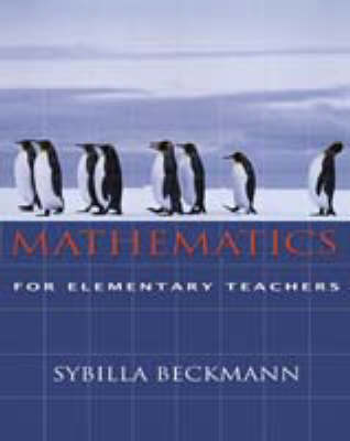 Mathematics for Elementary Teachers and Activities - Beckmann-Kazez, Sybilla