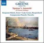 Maurice Greene: Spenser's Amoretti (25 Sonnet Settings)
