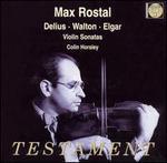 Max Rostal Plays Delius, Walton, Elgar