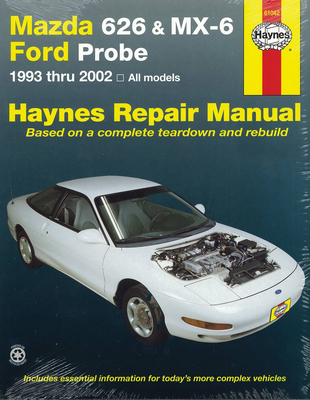 Mazda 626 Automotive Repair Manual: 1993-02 - Haynes, John