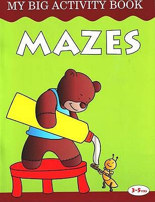 Mazes: My Big Activity Book - Pegasus
