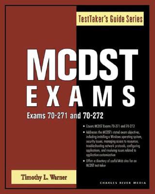 McDst Exams (Exams 70-271/70-272) - Warner, Timothy L