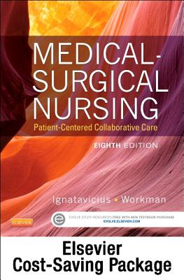 Medical-Surgical Nursing -- Two-Volume Text and Elsevier Adaptive Quizzing Package - Ignatavicius, Donna D, MS, RN, CM, and Workman, M Linda, PhD, RN, Faan, and Elsevier