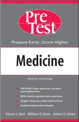 Medicine: Pretest Self-Assessment and Review - Pretest, and Berk, Steven Lee, M.D., and Davis, William R