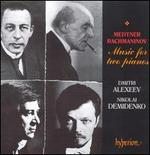 Medtner & Rachmaninov: Music for two pianos