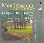 Mendelssohn-Bartholdy: Complete String Quartets, Vol. 2