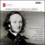 Mendelssohn: Complete Songs, Vol. 1