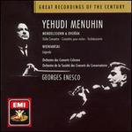 Mendelssohn & Dvorak: Violin Concertos; Wieniawski: Légende