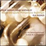 """Mendelssohn: Ein Sommernachtstraum; Sinfonie Nr. 3 """"Schottische"""""""