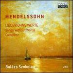 Mendelssohn: Lieder ohne Worte