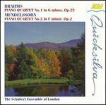 Mendelssohn: Piano Quartet No.2; Brahms: Piano Quartet No.1