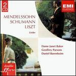 Mendelssohn, Schumann, Liszt: Lieder