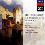 Mendelssohn: The Symphonies, Vol.2