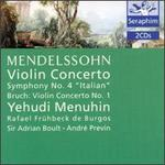"Mendelssohn: Violin Concerto; Symphony No. 4 ""Italian""; Max Bruch: Violin Concerto No. 1"