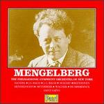 Mengelberg Conducts Overtures and Short Works
