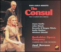 Menotti: The Consul - Arianna Zukerman (vocals); David Cangelosi (vocals); Emily Golden (vocals); James Demler (vocals); John Cheek (vocals);...