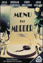 Menu for Murder - Larry Pearce