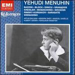 Menuhin Plays Bazzini, Bloch, Dinicu, Granados, Kreisler, Moszkowski and Others