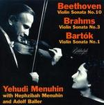 Menuhin Plays Beethoven, Brahms & Bartók