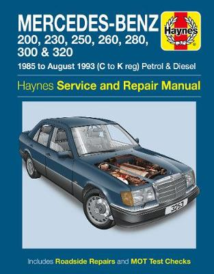 Mercedes-Benz 124 Series Service and Repair Manual -