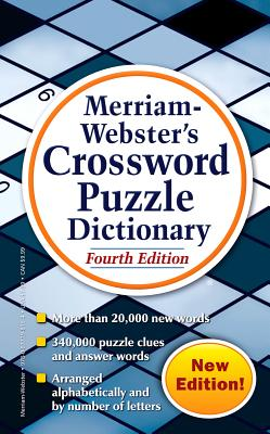 Merriam-Webster's Crossword Puzzle Dictionary - Merriam-Webster Inc