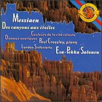 Messiaen: Des Canyons aux Etoiles; Oiseaux Exotiques; Couleurs de la Cité Céleste - David Johnson (glockenspiel); James Holland (xylorimba); Michael Thompson (french horn); Paul Crossley (piano);...