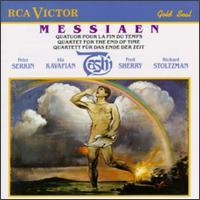 Messiaen: Quatuor pour la Fin du Temps - Fred Sherry (cello); Ida Kavafian (violin); Peter Serkin (piano); Richard Stoltzman (clarinet); Tashi
