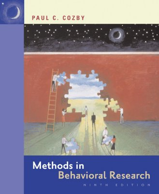 Methods in Behavioral Research with Powerweb - Cozby, Paul C, and Cozby Paul