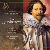Meyerbeer: Les Huguenots - Dimiter Petkov (vocals); Enriqueta Tarres (vocals); Ewald Aichberger (vocals); Harald Neukirch (vocals);...