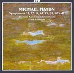 Michael Haydn: Symphonies 14, 17, 19, 24, 29, 33, 40 & 41