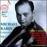 Michael Rabin: Collection, Vol. 3