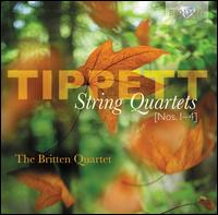 Michael Tippett: String Quartets Nos. 1-4 - Andrew Shulman (cello); Britten String Quartet; Keith Pascoe (violin); Peter Lale (viola); Peter Manning (violin)