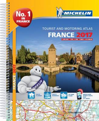 Michelin France Atlas 2017 - Michelin