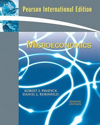 Microeconomics - Pindyck, Robert S., and Rubinfeld, Daniel L.