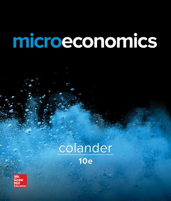 Microeconomics book by david colander 19 available editions browse related subjects fandeluxe Gallery