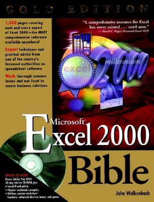 Microsoft Excel 2000 Bible - Walkenbach, John