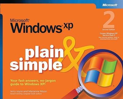 Microsoft Windows XP Plain & Simple - Joyce, Jerry, and Moon, Marianne