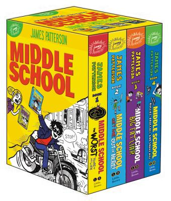 Middle School Box Set - Patterson, James, and Tebbetts, Chris, and Park, Laura