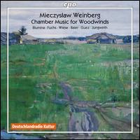 Mieczyslaw Weinberg: Chamber Music for Woodwinds - Elisaveta Blumina (piano); Henrik Wiese (flute); Mathias Baier (bassoon); Nimrod Guez (viola); Uta Jungwirth (harp);...
