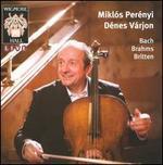 Mikl� Per�nyi plays Bach, Brahms & Britten