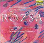 Miklos Rózsa: Concerto for Violin and Orchestra; Concerto for Cello and Orchestra; Theme and Variations
