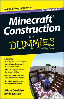 Minecraft Construction for Dummies, Portable Edition - Cordeiro, Adam, and Nelson, Emily