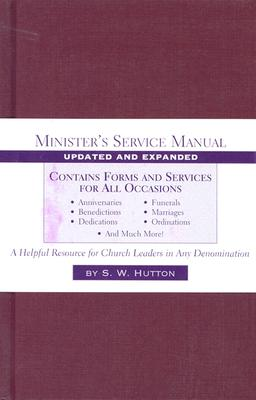 Minister's Service Manual - Hutton, Samuel Ward