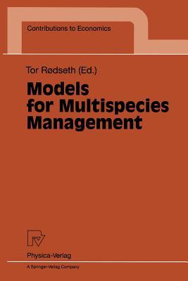 Models for Multispecies Management - Rodseth, Tor (Editor)