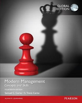 Modern Management: Concepts and Skills - Certo, Samuel C., and Certo, S. Trevis