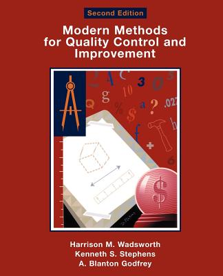 Modern Methods for Quality Control and Improvement - Wadsworth, Harrison M
