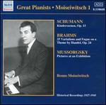 Moiseiwitsch plays Schumann, Brahms, Mussorgsky