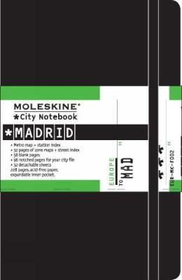 Moleskine City Notebook Madrid - Moleskine